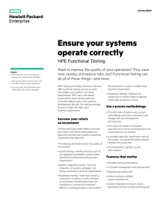 Ensure your systems operate correctly
