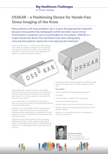 OSSKAR – a Positioning Device for Hands
