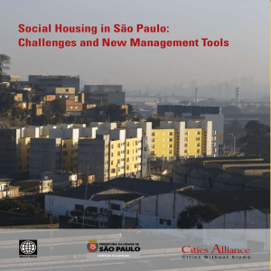 Social Housing in São Paulo: Challenges and New