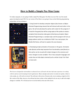 How to Build a Simple Pac-Man Game