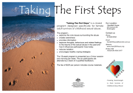 Taking The First Steps - heartfelthouse.org.au