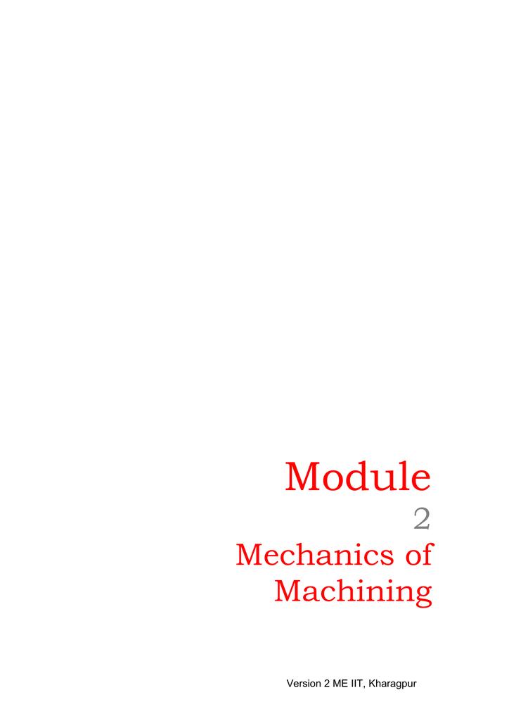 MCD - nptel