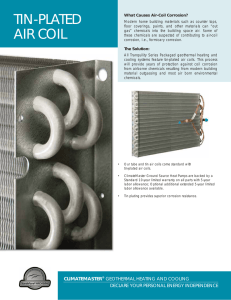 Tin-Plated Air Coil
