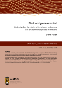 Black and green revisited: understanding the relationship