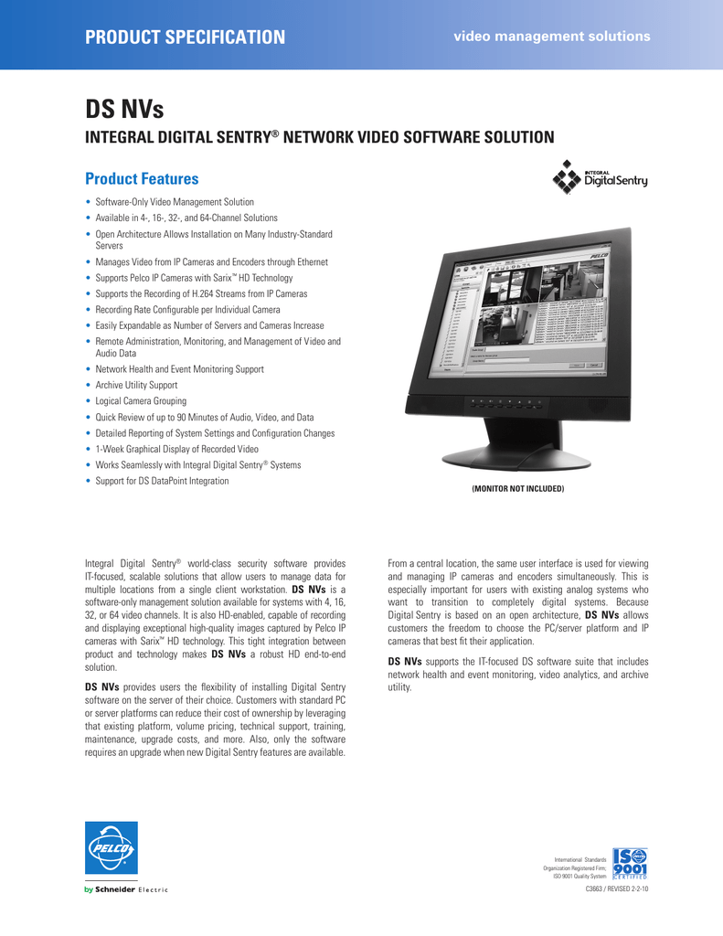 DS NVs - Security Camera Systems