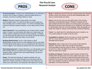 PROS CONS - Duke University | Economics
