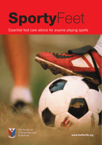 SportyFeet - Society of Chiropodists and Podiatrists