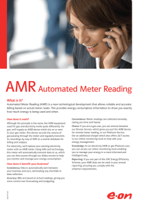 AMRAutomated Meter Reading