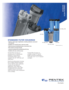 Water Technologies Water Purification Products and