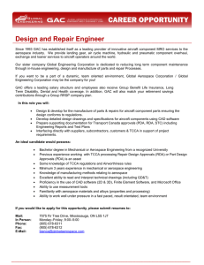Design and Repair Engineer - Global Aerospace Corporation