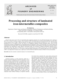 Processing and structure of laminated iron