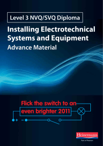Installing Electrotechnical Systems and Equipment