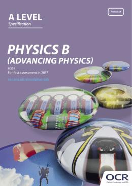 ocr physics coursework mark scheme