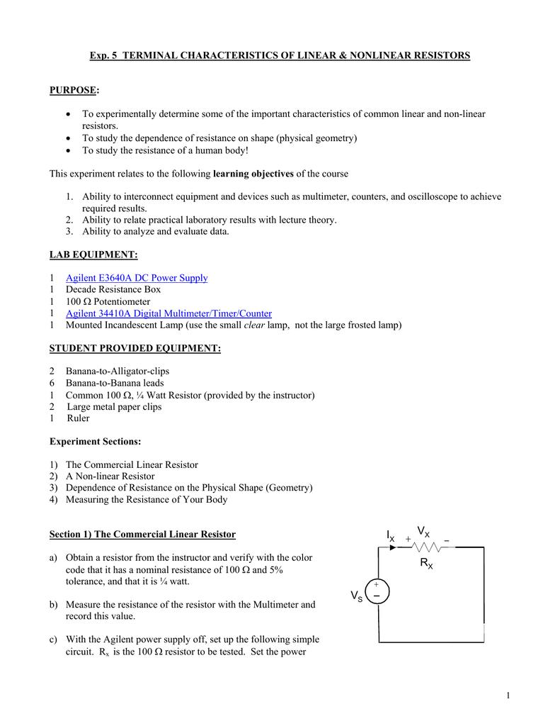 Ix Rx Vx Vs Figure 5 The Simple Dc Digital Meter Circuit Is Completely