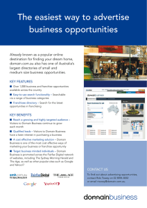 The easiest way to advertise business opportunities