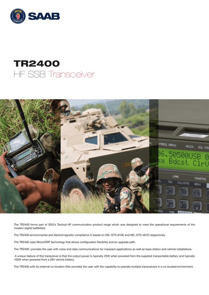 TR2400 HF SSB Transceiver