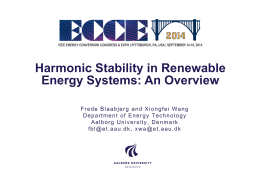 Harmonic Stability in Renewable Energy Systems: An Overview