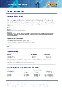 Technical Data Sheet Jotamastic 80