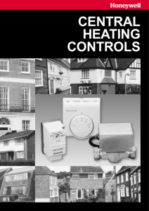 central heating controls