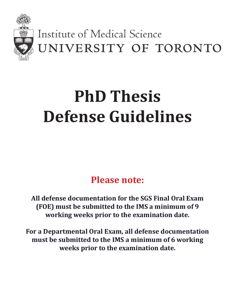 u of t sgs thesis submission