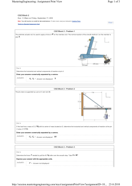 Page 1 of 3 MasteringEngineering: Assignment Print View 23