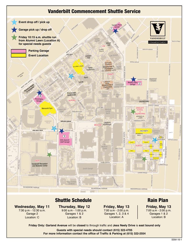 Shuttle Service - Vanderbilt University