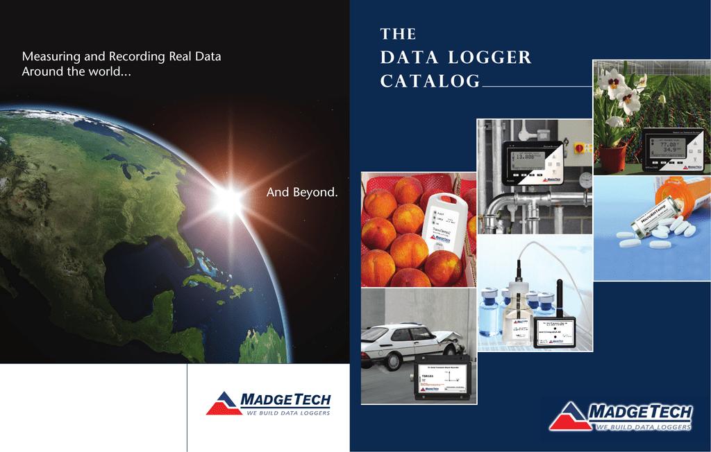 data logger catalog