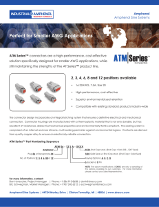 Perfect for Smaller AWG Applications