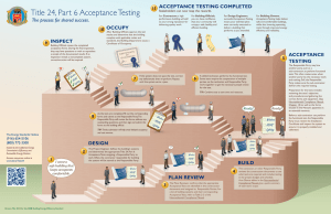 Acceptance Testing - California Commissioning Collaborative