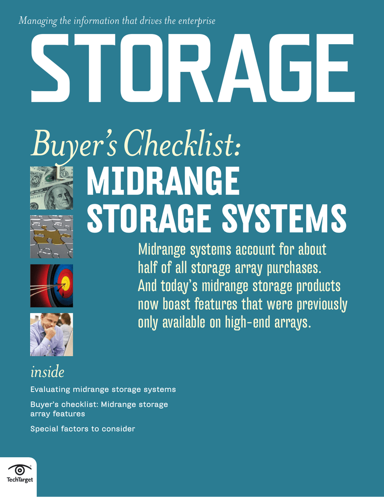 Array Of Factors Drives Students From >> Midrange Storage Systems