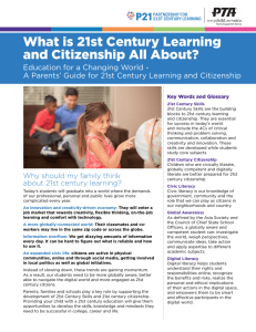 What is 21st Century Learning and Citizenship All About?