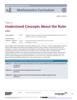 Understand Concepts About the Ruler