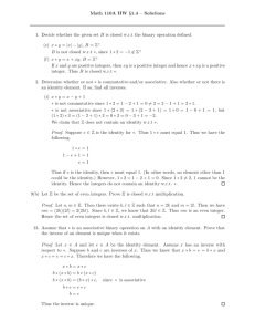 Math 110A HW §1.4 – Solutions 1. Decide whether the given set B is