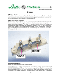 Diodes - Lester Electrical