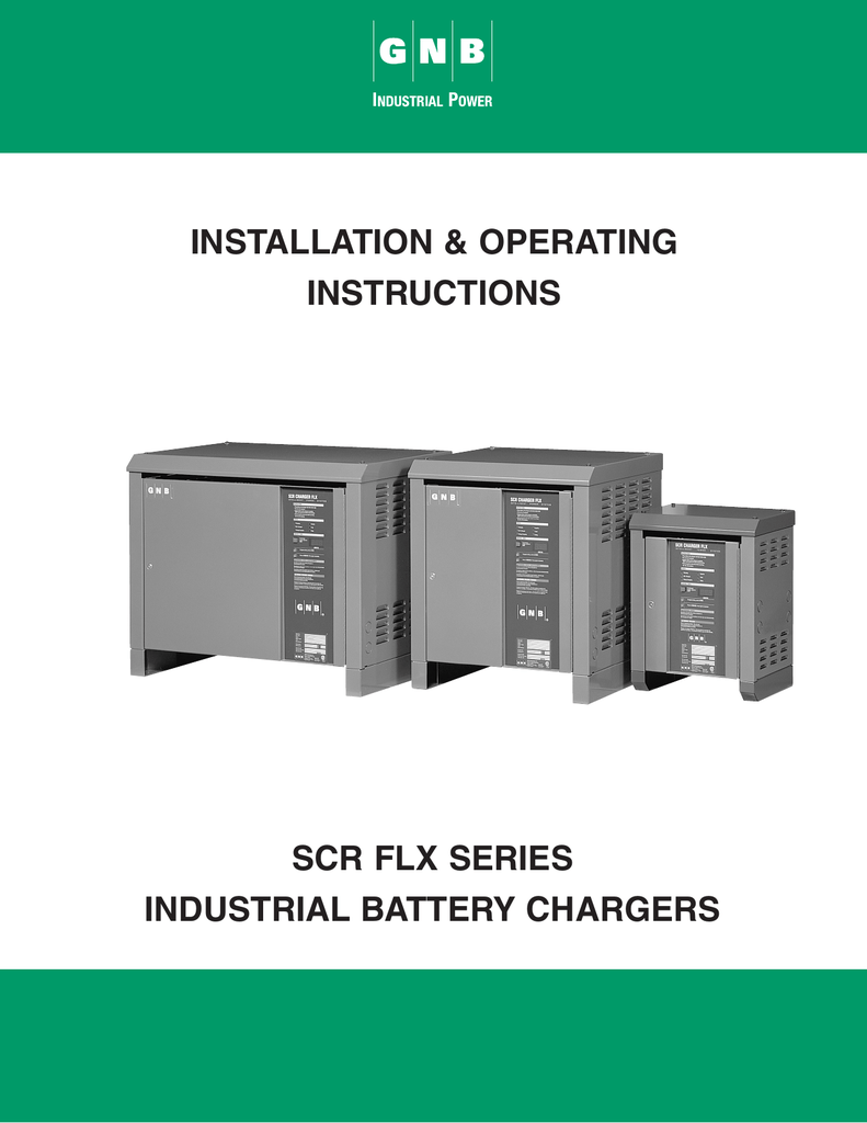 SCRFLX Charger - Exide Technologies on