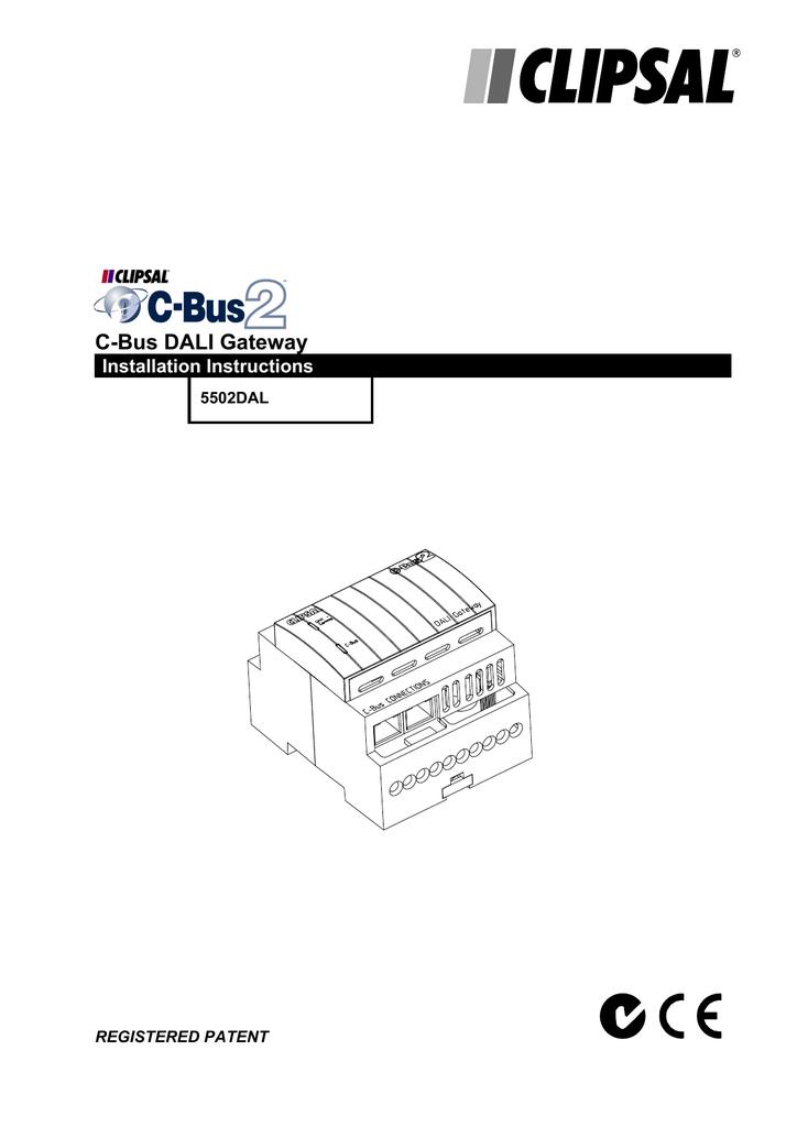 cbus dali wiring diagram