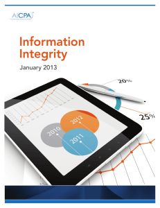 white paper on Information Integrity