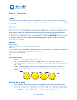 Lemon Batteries