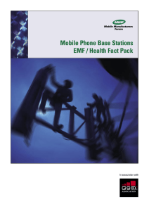 Mobile Phone Base Stations EMF / Health Fact Pack