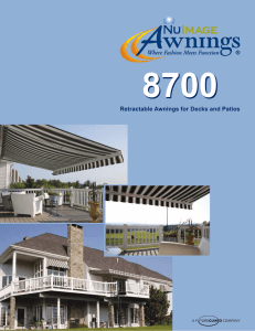 Retractable Awnings for Decks and Patios