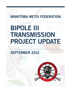 bipole iii transmission project update