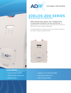 delos-200 series - Advanced RF Technologies, Inc.