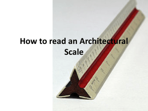 How to read an Architectural Scale