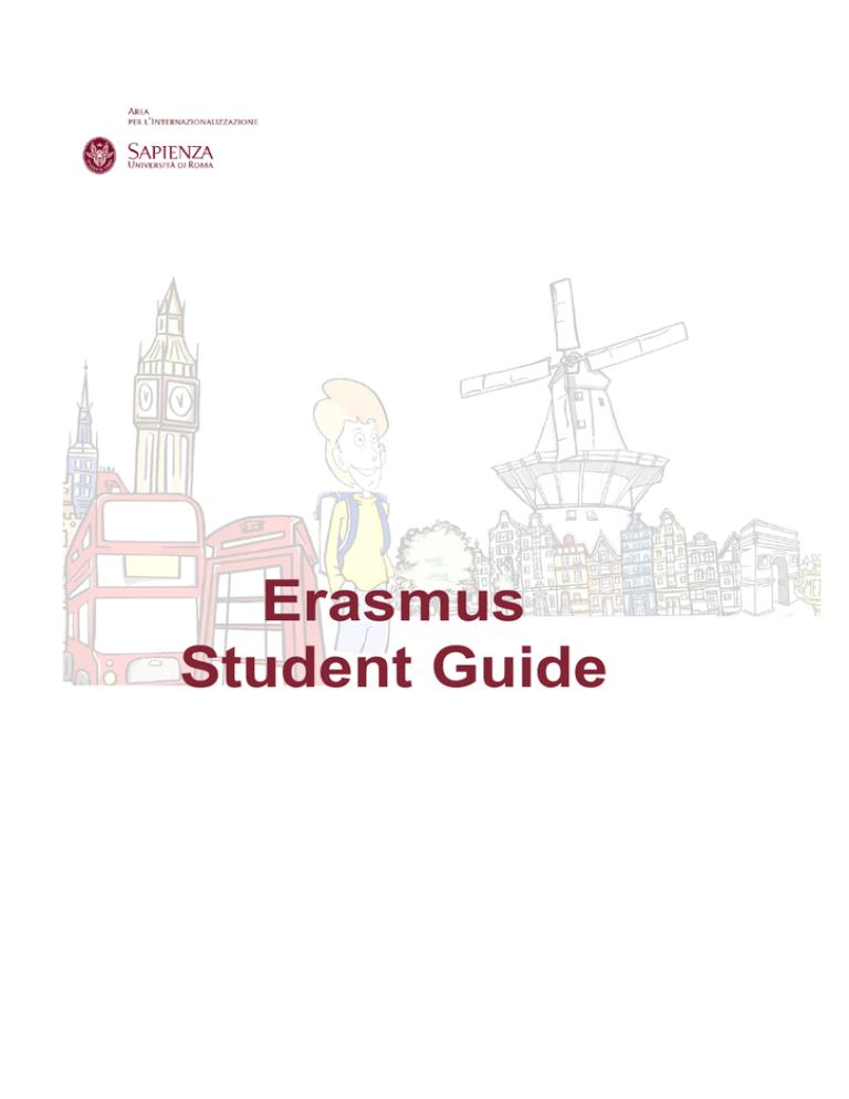 sapienza erasmus student guide  studylib