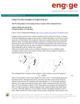 Worksheet 5 1 Centripetal Force And Centripetal Acceleration I