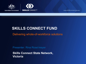 skills connect fund - Apprenticeships Matter