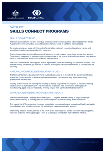 skills connect programs - Cairns Chamber of Commerce