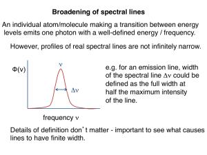 Myke ⁓ Top Ten Width Of Spectral Lines Definition