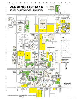 CAMPUS MAP NORTH DAKOTA STATE UNIVERSITY