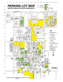 Campus Map NORTH DaKOTa STaTE UNIVERsITY - North dakota state map